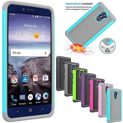 HYBRID COVER CASE ZTE Max Duo Z962BL Z963VL Grand X Max 2
