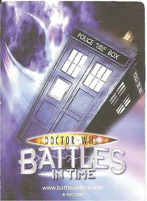 Dr Who Battles In Time Invader 495-554 Common & Rare Trading Cards