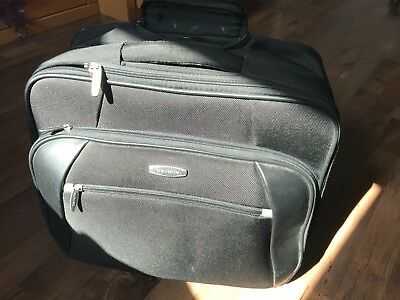 Travelite Business Rollkoffer/Laptoptasche
