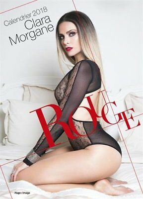 Calendrier 2018 Clara Morgane Rouge Femme Sexy Neuf