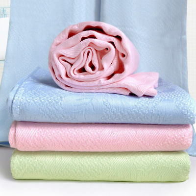 bamboo fiber blankets cool feeling throws air conditioning blanket multi-size