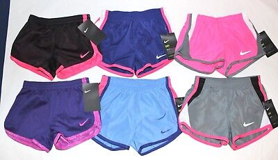 Toddler Girls NIKE Shorts 2T or 4T You pick color + style NEW w tags
