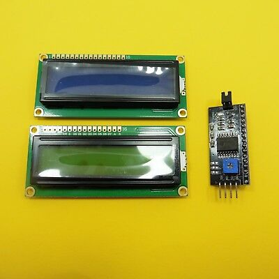 1602 Module 5V LCD Board 1602A 16x2 LCM IIC/I2C Serial Interface Adapter Module