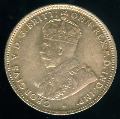 1913 British West Africa Silver Shilling Unc.
