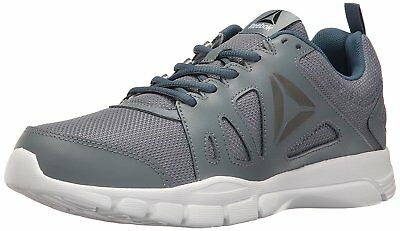 Reebok Men's Trainfusion Nine 2.0 Athletic Running Shoes Dust Grey/Blue