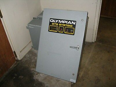 Generac Olympian Used Working 100 Amp 3 Phase Automatic Transfer Switch 277/480V
