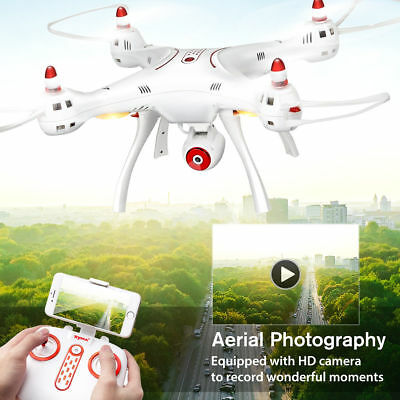 Syma X8SW 2.4G WIFI Camera RC Drone with GYRO FPV Real Time Quadcopter Aircraft