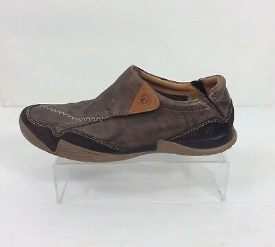Allevamento intestino Rallegrarsi  CLARKS PRIVO MEN'S Brown Leather Slip On Shoes Size Uk 8.5 - £29.99 |  PicClick UK