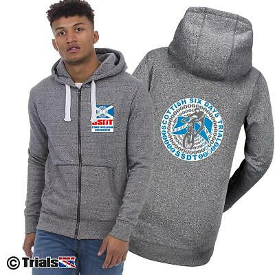 Scottish Six Days Trial Official Infinity Zipped Hoodie