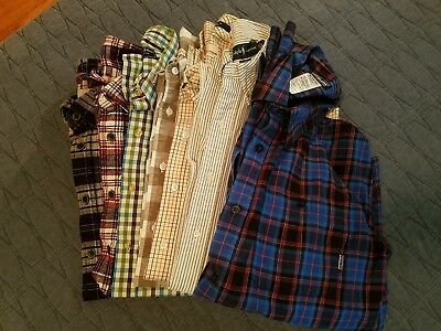 Lot of men's casual chino pants, long-sleeved button down casual shirts- LARGE