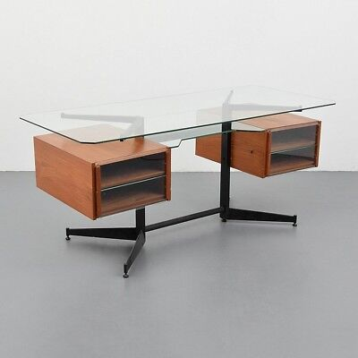 Gio Ponti Desk, Certificate from Archives Lot 149