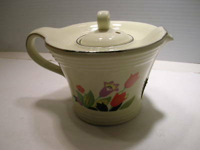 Hall China Limited Edition 1996 Crocus Melody Teapot Tea Pot With Label
