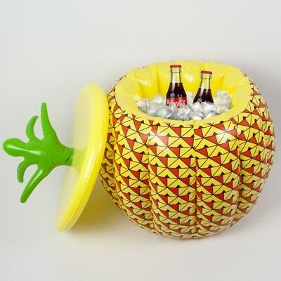 Inflatable Pineapple Ice Bucket Drinks Cooler Novelty Summer Party BBQ Beer Bar