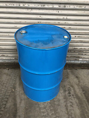 Used 205 Litre 45 Gallon Metal Drums