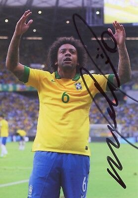 Photo de Marcelo signature autographe E5!