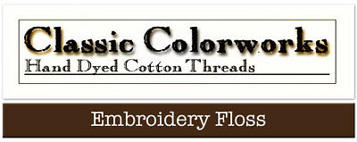 Classic Colorworks Hand Over-Dyed Embroidery Floss Thread Colors A  -  L
