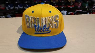a3190405d16 ADIDAS UCLA BRUINS Blue Natural March Madness Adjustable Snapback ...