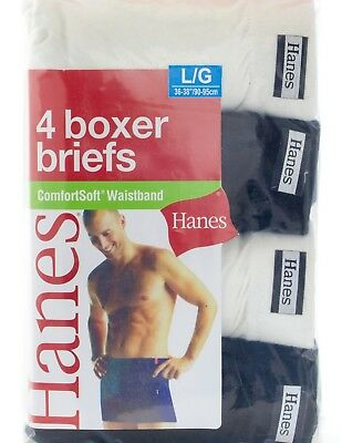 f023b5fea75a HANES MEN'S COMFORT soft Waistband Boxer Briefs 4-Pack Assorted colors -  $13.50 | PicClick