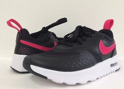 f7f55d0b77 New Nike Air Max Vision BLK Pink Youth Little Girl's Sneakers 10.5 11 11.5  4 4.5