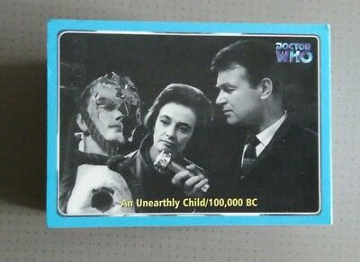 Dr Who trading cards full set 120 base cards by strictly ink N/m