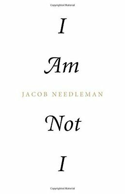 I Am Not I by Jacob Needleman New Paperback Book