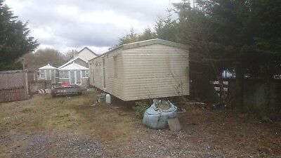Static disabled Caravan, ideal site office or temp accommodation