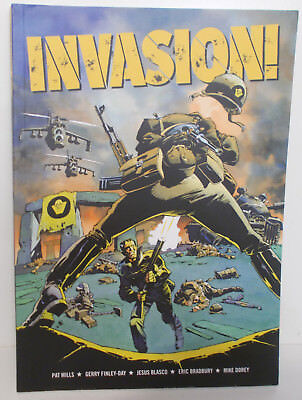 Invasion! by Pat Mills (soft cover 2000AD graphic novel)