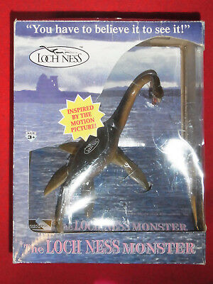 Original THE LOCH NESS Monster FIGUR 1995/ VOM FILM LOCH NESS/ Shadowbox