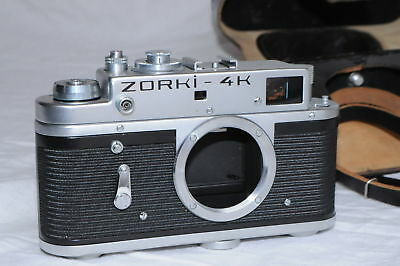 Zorki 4K 35Mm Rangefinder Camera