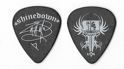 Shinedown white/black tour guitar pick
