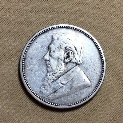 1892 South Africa 2 Shillings Silver