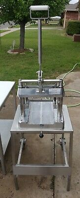 Commercial Meat Tenderizer Jaccard Model H NSF Certified manual mechanical