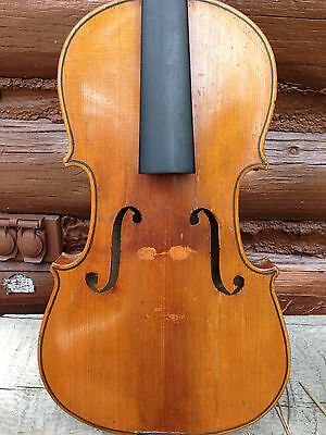Old Violin for Restoration, Labeled Gaetano Pollastri