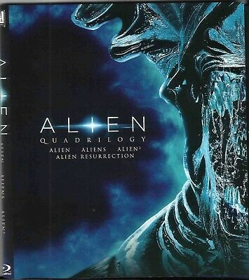 Alien: Quadrilogy [Blu-ray] Like New Includes Art Cards and Digital Preview