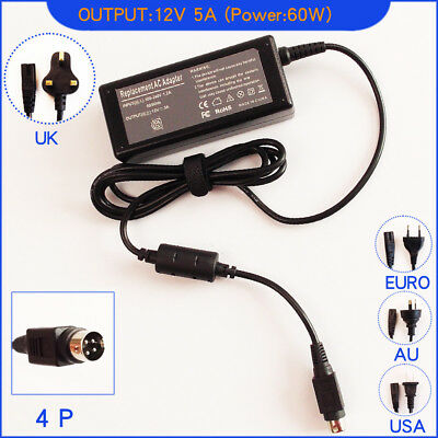 12V 5A AC Adapter Charger for HP Compaq TFT 1720 L1720 L1750 LCD PC Monitor