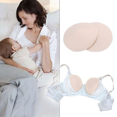 Washable Breast Pads Reusable Nursing Pure Cotton Breastfeeding Thin Pads UK New