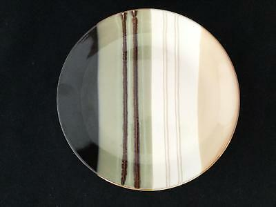 Striped Set of 4 Home Trends JAZZ 10 1/2  Dinner Plates - FREE & SET OF 12 Home Trends JAZZ 4 of 10 1/2