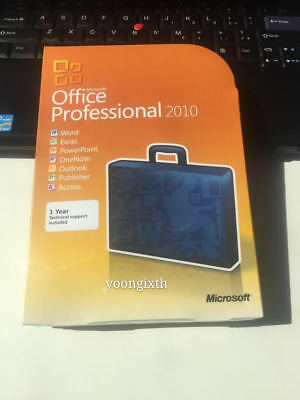 Microsoft Office 2010 Professional | Full version | For 32/64BIT DVD&KEY NEW
