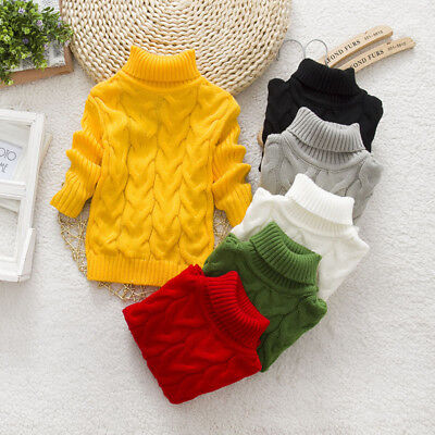 Winter Baby Kids Girl Boy Clothes Girls Thicken Wool Sweater Jackets Tops Coats