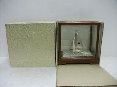 The sailboat of Pure silver of Japan. #32g/ 1.13oz. Japanese antique