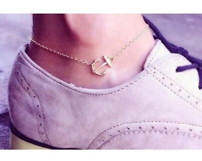 Gold Plated Ankle Bracelet - Different sizes available
