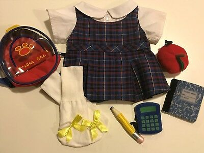Build A Bear Clothes Ready For School Set