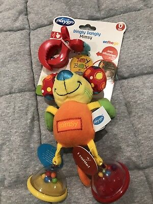 Baby Toy Dingly Dangly Mimsy Mouse Mirror Rattle Pram Attachment Playgro 0m+