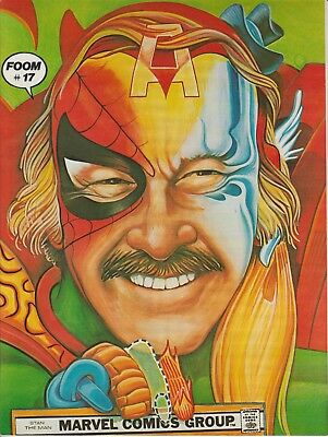 FOOM #17 Stan Lee/Thor Front Cover and KISS Back Cover