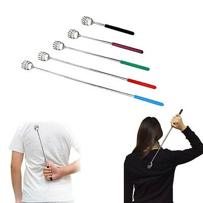 Hand Held Telescopic Back Scratcher Massagers Claw Extendable Itchy Massage Tool