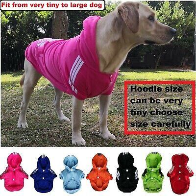Pet cat Dog Hoodie Jumper winter warm Clothing  XS-9XL