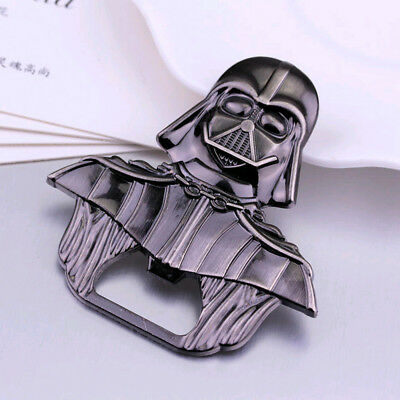 Funny Beer Opener Metal Alloy Lord Darth Vader Wine Drink Bottle Opener Tools