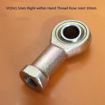 M10x1.5mm Female Performance Rod End, Right Within Hand Thread Rose Joint 10mm