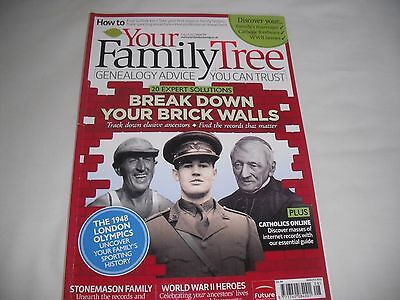 Your Family Tree August 2012 Issue 119 (London Olympics 1948)