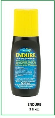 Endure Roll-On Fly Repellant for Horses / Livestock, 3oz size,  NEW /  Free Ship